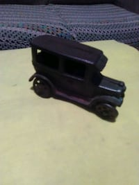 Antique cast iron car