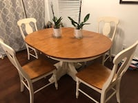 Nice dining table set (w/ 4 chairs) Clifton, 20124