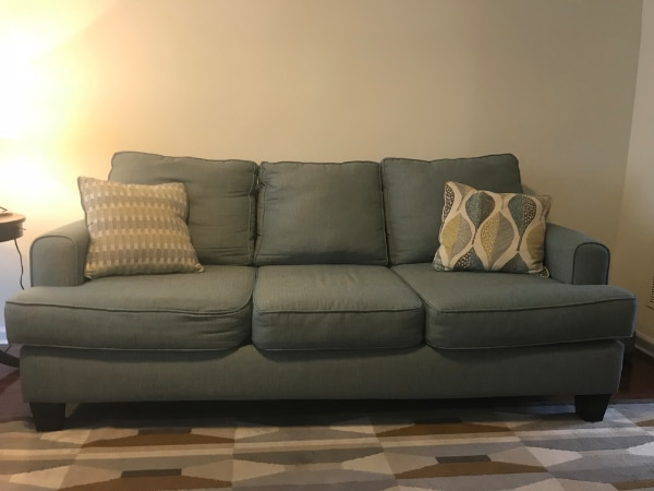 Plush, Cozy Living room sofa - Very comfortable - needs a new home