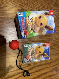 Pokémon Let's Go Eevee + Pokeball