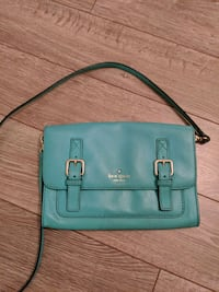 Kate Spade green leather cross body purse Toronto