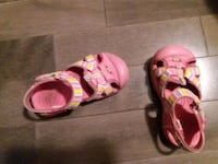 Size 8 toddler sandals Moncton, E1G 0R8