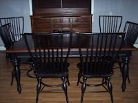 two brown wooden windsor chairs 275 mi