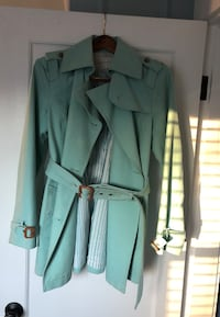 Banana Republic pastel green jacket Marblehead, 01945