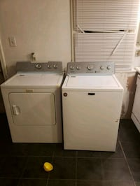 white washer and dryer set Columbus