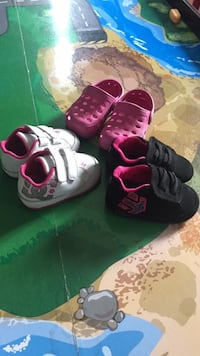 Size 2-3 baby girl name brand shoes! Kamloops, V2E 1W5