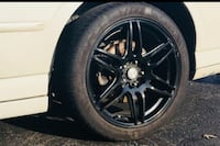 18 Inch Niche Racing Wheels with Tires Tulsa, 74129