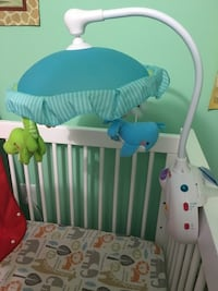 Crib mobile with music & lights - gently used! Falls Church