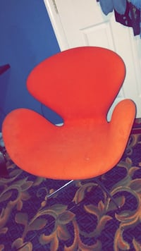 Orange spin chair Sterling, 20164