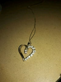 Heart necklace  2 km