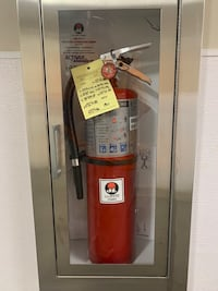 Fire extinguisher cabinets I have 4 brand new in boxes