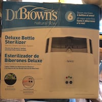New in the box- Dr.Browns Deluxe bottle sterilizer  Lancaster, 93534