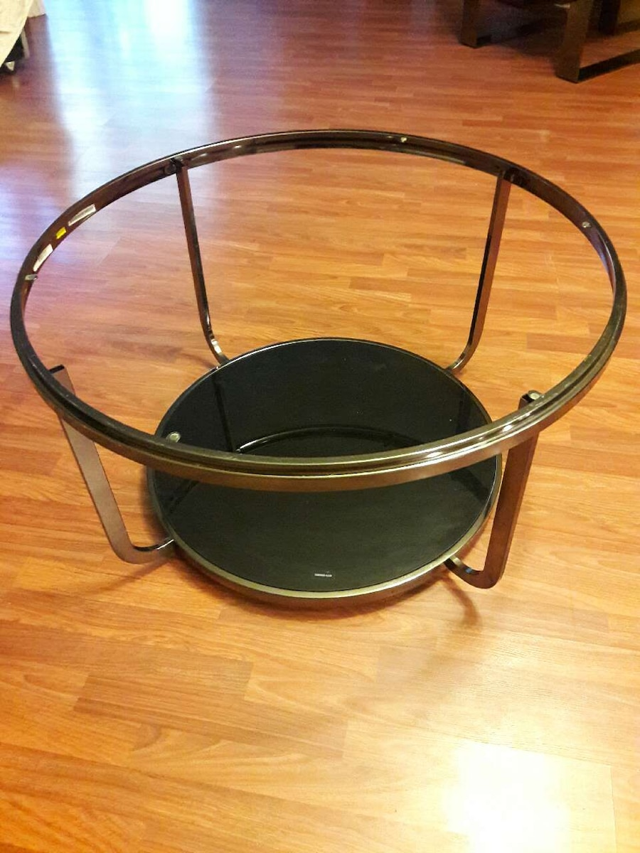 round stainless steel frame