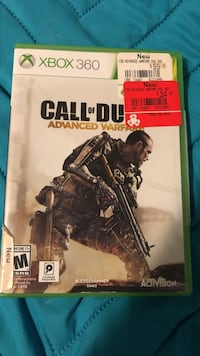 Call of Duty Advanced Warfare PS3 game case