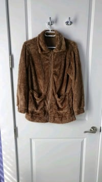 NEW Teddy Plush Hoodless Coat Jacket Spring Fall Montreal, H3T 1E2