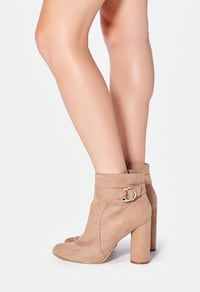 Beige booties. New. Size 9 and 9.5 Toronto, M9C