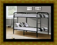 Twin bunkbed frame with 2 mattress District Heights, 20747