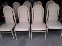 8 metal dining chairs  Spring Hill, 34610