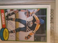 Rookie Oilers trading card Victoria, V8Z