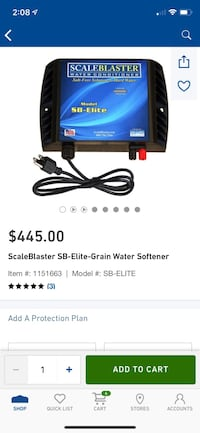 Scaleblaster water conditioner NOT WATER SOFTENER THUS NO CHEMICAL Ellicott City, 21043