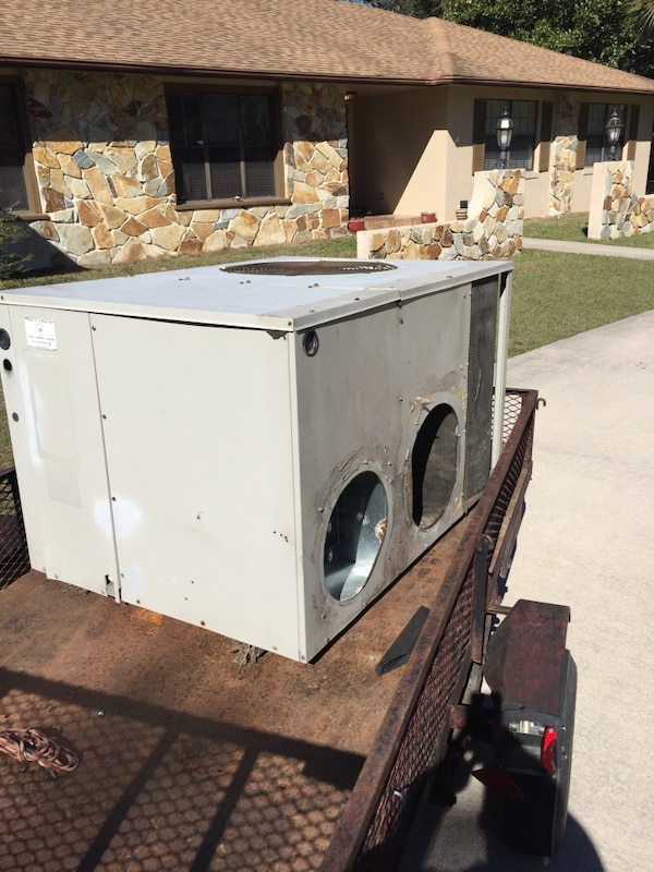 3-Ton A/C Heat-Pump package unit  Works great