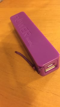 Purple power bank-portable charger Abbotsford, V2S 8L6