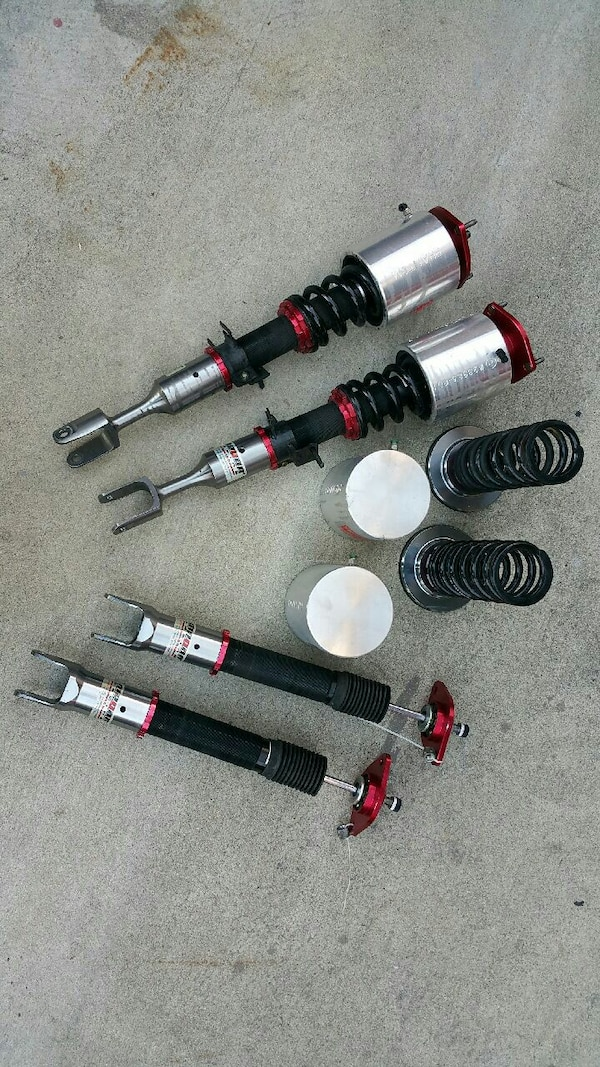 Air cup kit suspension infiniti g35 Nissan 350z