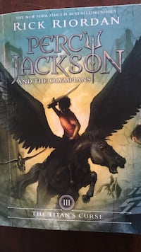 Percy Jackson And The Olympians Book 3 The Titan's Curse By Rick Riordan Cas Català, 07181