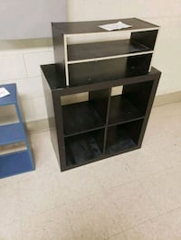 Black wooden Shelf/ Stand Arlington, 22201