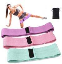3 Fabric Resistance Band , NEW