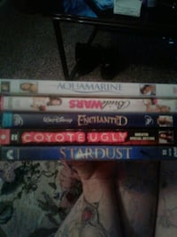 5 girly movies all for 15or 2.00 each Lubbock, 79410