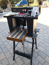 Benchtop Router Table with Bits Caledon, L7E 0C6