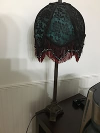 black and brown floral table lamp Surrey, V3W 7G8
