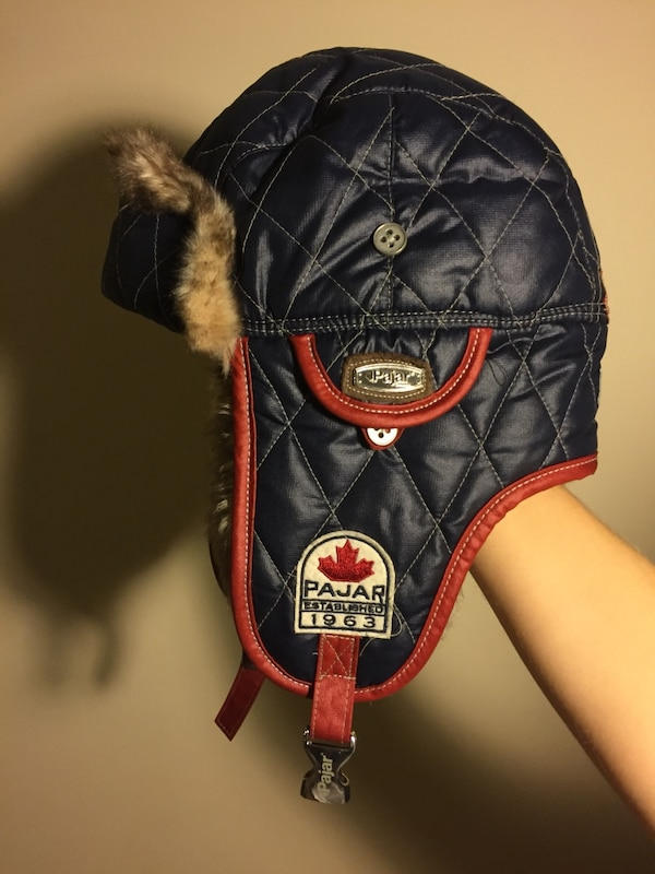 9027d6e420e47 Used black and red pajar 1963 quilted russian hat for sale in ...