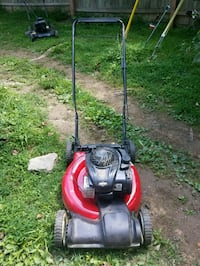 yard machine self propelled push mower