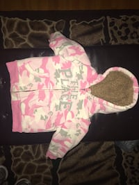 Children's Place size 3 extremely think pink camouflage jacket  No holds  Posted on other sites  Located in South end  Regina, S4S 1G5