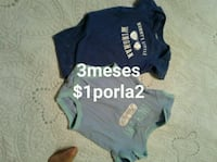 baby's two blue and black onesies McAllen, 78501