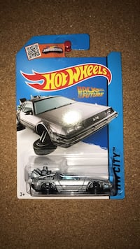 Delorean hot wheels diecast model car  Vaughan, L6A