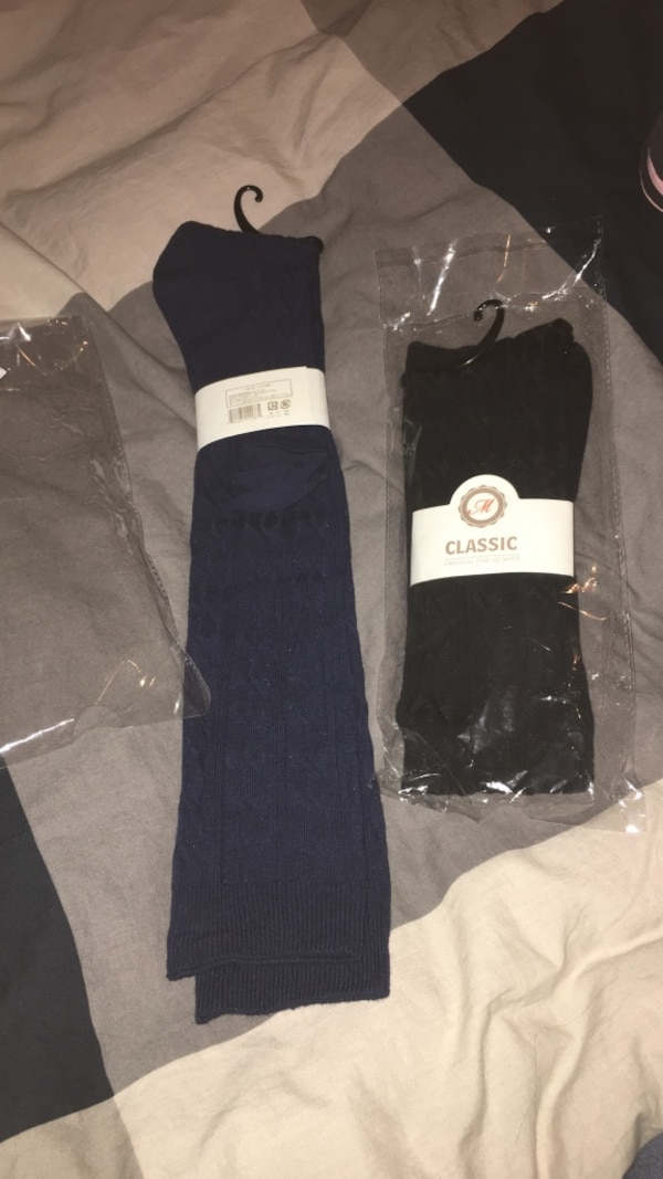 "2pair  CLASSIC ORIGINAL FINE QUALITY ""High socks"""