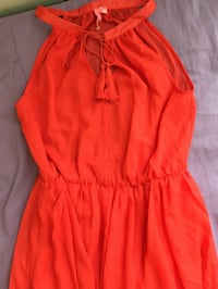 Long orange dress San Diego, 92154