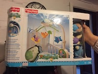 Fisher Price Rainforest barneseng mobilboks