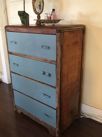 Brown and gray wooden dresser Los Angeles, 90037