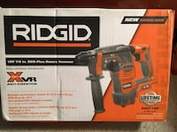 New never used RIDGID SDS XVR Rotary hammer drill. ( Tool only)
