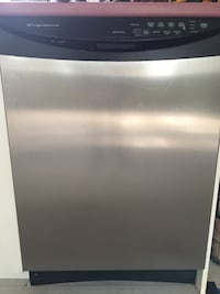 Gray and black frigidaire dishwasher null, K0A 1A0
