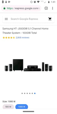 Samsung sound bar & home theater Springfield, 65804