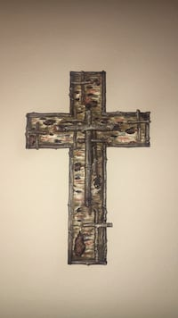 brown and black wooden wall decor Saint Charles, 63303