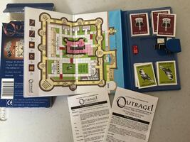 Travel size game Outrage! Tower of London