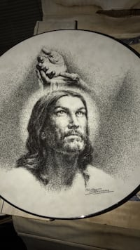 Portrait of Christ. Knowles China plate  Omaha, 68108