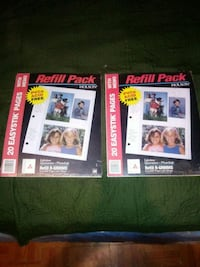 2 packs of easystik pages with memo for pictures Napoleonville, 70390