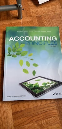 Accounting textbook  Vaughan, L6A 1R5